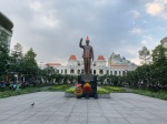 Ho-Chi-Minh statue